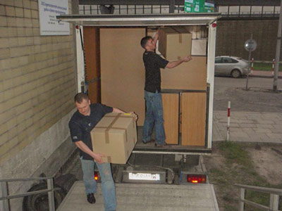 Man and van for small office removals Liversedge